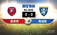 【赛事复盘】意乙雷吉纳VS弗洛西诺尼比分结果,比赛结果0-0