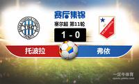 【赛事复盘】塞尔超托波拉VS伏伊伏丁那比分结果,比赛结果1-0