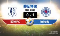 【赛事复盘】苏超邓迪FCVS格拉斯哥流浪者比分结果,比赛结果0-1