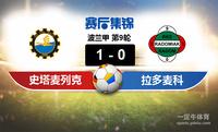 【赛事复盘】波兰甲史塔麦列克VS拉多麦科比分结果,比赛结果1-0