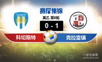 【赛事复盘】英乙科切斯特联VS克拉雷镇比分结果,比赛结果0-1