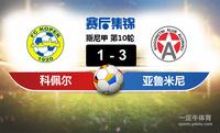 【赛事复盘】斯尼甲科佩尔VS亚鲁米尼比分结果,比赛结果1-3