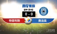 【赛事复盘】捷甲特普利斯VS奥洛莫茨比分结果,比赛结果0-0